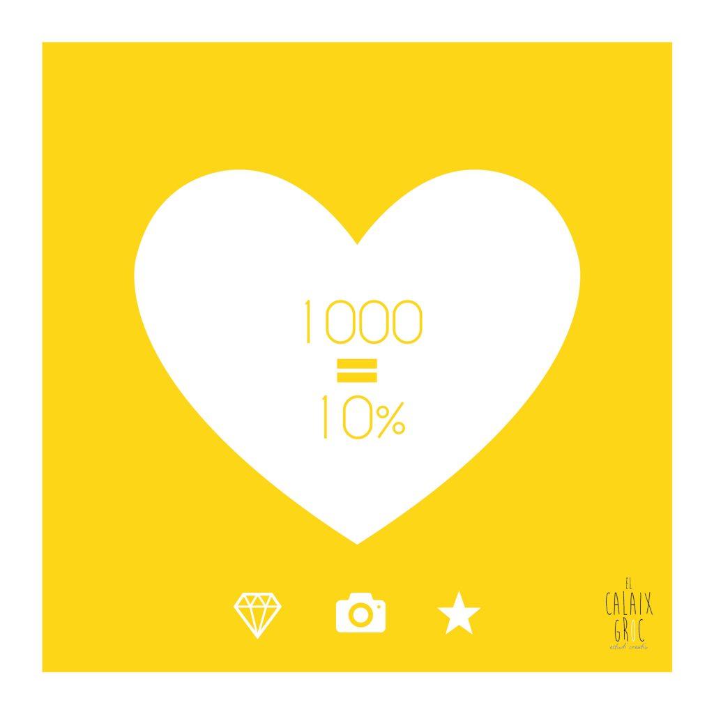1000 likes facebook descuento diseño grafico fotografia creativa elcalaixgroc estudi creatiu benissa marinaalta alicante 02 1024x1024 - 1000 GRACIAS