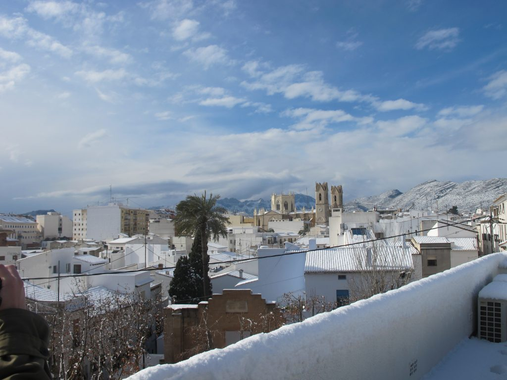 IMG 4852 1024x768 - La nieve en Benissa